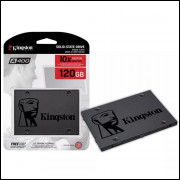 Hd Ssd Kingston 120gb 6gb/s A400 Pc Notebook