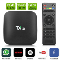 Smart Tv TX2 Android 7.1 Quad Core 2gb Ram 16gb 4k Ultra Hd