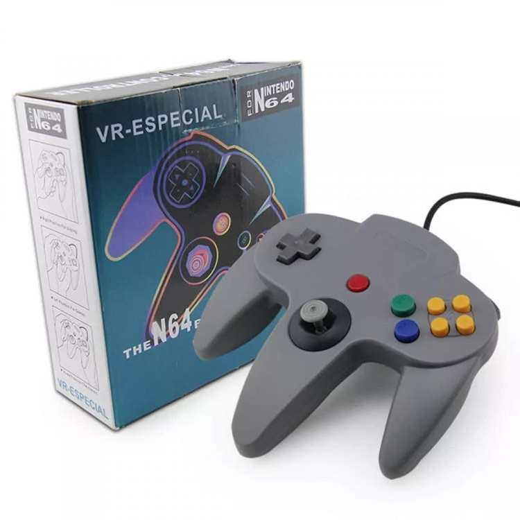 Controle Nintendo 64 Manete N64 Usb Joystick Pc Notebook