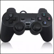 Controle Ps2 Manete Joystick Dualshock Usb P/ Pc Notebook Computador