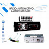 Radio De Carro Som Automotivo Bluetooth Mp3 Usb Sd Fm Aux