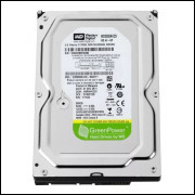 Hd Western Digital 500gb Sata 3gbs 7200rpm Sata Greenpower