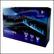Radio Automotivo Bluetooth Usb Mp3 Sd Fm Auxiliar