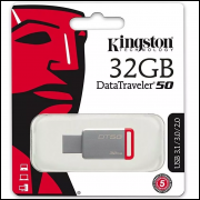 Pendrive Kingston 32GB Usb 3.1 Data Traveler Dt 50